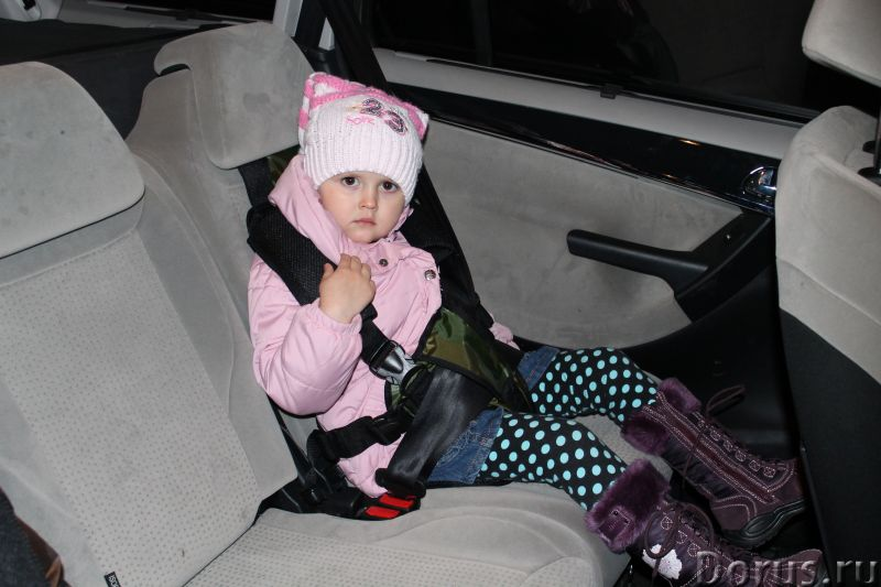 БЕСКОРКАСНОЕ АВТОКРЕСЛО от 1 года и до 12 лет - Детские товары - Бескаркасные детские автокресла Дак..., фото 6