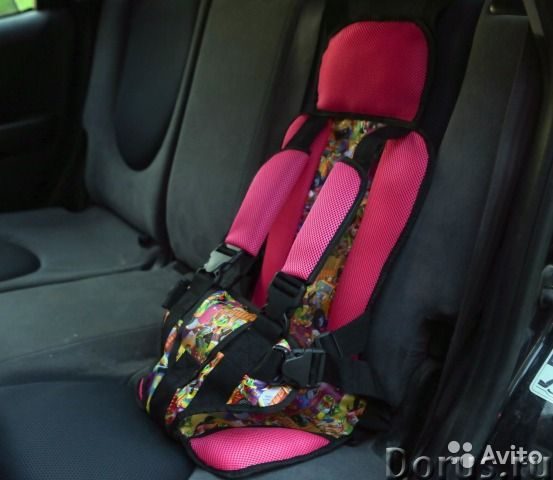 БЕСКОРКАСНОЕ АВТОКРЕСЛО от 1 года и до 12 лет - Детские товары - Бескаркасные детские автокресла Дак..., фото 8