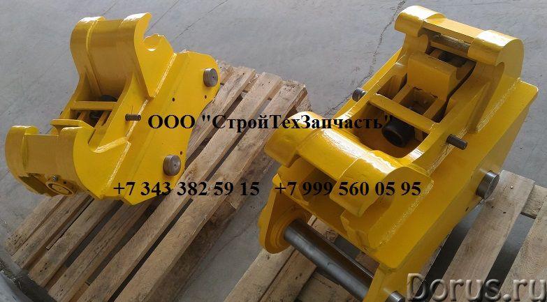 Komatsu РС400LC-7SE квик-каплер механический (быстросъем) - Запчасти и аксессуары - Для экскаватора..., фото 2