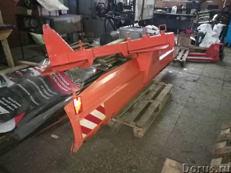 Задний отвал НО-76 (на трактор мтз) - Запчасти и аксессуары - Предназначен для уборки снега на автом..., фото 6